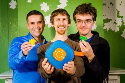 Theo Marescaux, Will Moffat, and Pieter Palmers are three dads that love technology but felt that true imagination has taken a back seat and created Jooki.